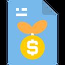 Startup Growth File Analysis File Icon