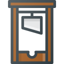 Guillotine Halloween Head Icon