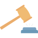 Guilt Judgment Law Icon