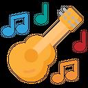 Guitar Music Play Icon