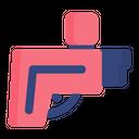 Gun Console Action Icon