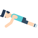 Gym Exercise Fitness Icon