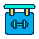 Board Gym Gym Board Icon
