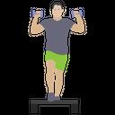 Gym Exercise Icon
