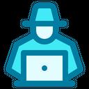 Hacker Computer Malware Icon