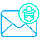 Hacker Mail Icon