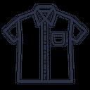 Half Shirt Icon