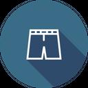 Halfpant Uniform Cloth Icon