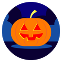 Halloween Pumpkin Day Icon