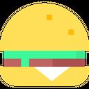Hamburger Snack Sandwich Icon