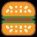Hamurger Burger Junkfood Icon