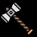 Hammer Viking Weapon Icon