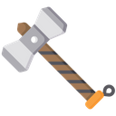 Hammer Viking Weapon Icon