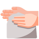 Cleaning Hand Hand Towel Icon