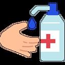 Hand Sanitiser Icon