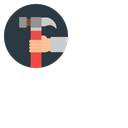 Hand Setting Manage Icon