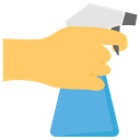 Hand Spray Water Spray Cleaning Spray Bottle Icon