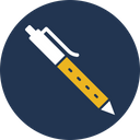 Hand Writing Ink Pen Pen Icon