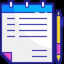 Handwritten notes Icon