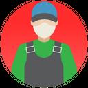 Handyman Worker Construction Worker Icon
