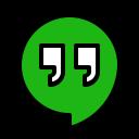 Hangouts Social Media Icon
