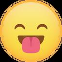 Happy Tongue Emoji Icon