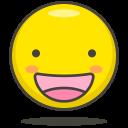 Happy Face Emots Icon