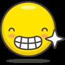 Happy Teeth Smile Icon