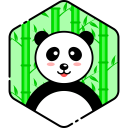 Happy Panda Face Icon