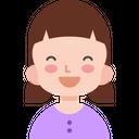 Happy Girl Happy Kid Happy Icon