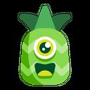 Pineapple Emoji Fresh Icon