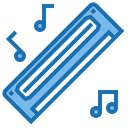 Harmonica Music Instrument Icon