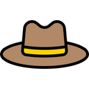 Hat Fathers Hat Cap Icon