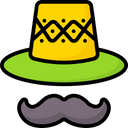 Hat Mustache Icon