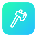 Hatchet Tool Forest Icon