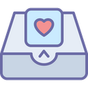 Greetings Email Heart Icon