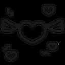 Heart Love Romantic Icon
