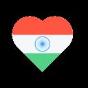 Heart National India Icon