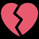 Heart Break Broken Icon