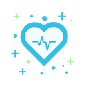 Heart Rate Medical Health Icon