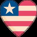 Heart Love Usa Icon