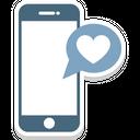 Heart Sign Hotspot Love Via Internet Icon