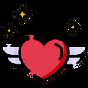 Heart Wings Icon