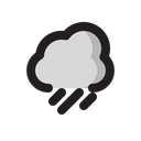 Cloud Heavy Rain Rain Icon