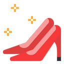 Shoes Woman Heel Icon