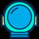 Astronaut Helmet Helmet Science Icon