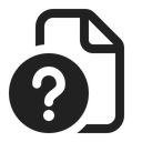 Document Unknown Unknown File Unknown Data Icon