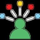 Hierarchy Leader Network Icon
