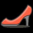 High Heel Footwear Icon