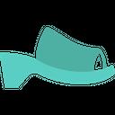 Heel Ladies Footwear Icon